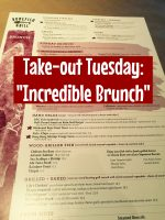 "Take Out Tuesday – ""Incredible Brunch at Bonefish"""
