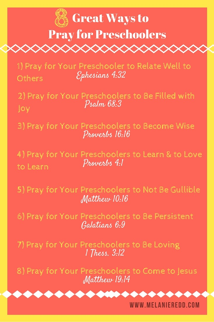graphic relating to Prayer of Jabez Printable called 8 Fantastic Tactics towards Pray for Preschoolers - Melanie Redd