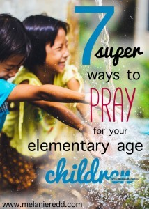 Prayer is important for parents. However, sometimes we don't know how to pray or what we should pray. Here is an article that gives you some very practical prayer ideas and scriptures to pray for your children.