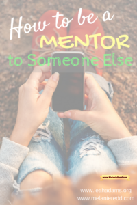 Would you like to invest in the life of someone else? Would you like to train, teach, equip, encourage, and make a difference in another person's future? Here's an article that gives you step by step instructions on how you can begin mentoring others. Why not stop by to check it out?