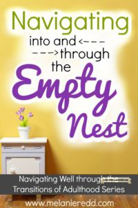 The Empty Nest is a very real season in adulthood. It can be a season of humor, fun, and great times in marriage. Or, it can be sad and depressing - especially for moms. This post is a collaboration of very wise advice, quotes, and tips from others who are doing well with an empty next. Why not drop by to gain a little wisdom?