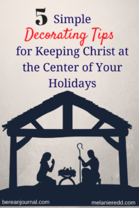 Would you like to find some great ways to simplify your Christmas decorating this year? Would you also like to make things more centered and focused on Jesus? This article will give you some great suggestions for simplifying things. Why not drop by for a visit?