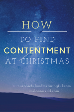 How to Find Contentment at Christmas