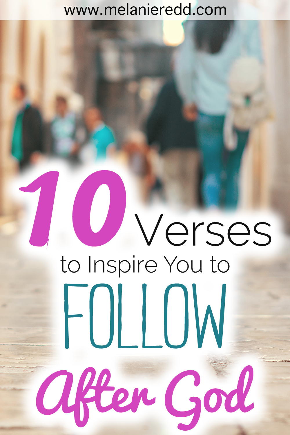 To follow is to... is to go after. To follow is to... move behind someone in the same direction. Following God is sometimes so easy. But other times it is difficult to step out in faith. Today, we offer 10 Bible verses that will inspire, motivate, & encourage you to follow after God wholeheartedly. Why not stop by for a visit?
